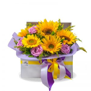 "FLOWER BOX ""HELIOS"""